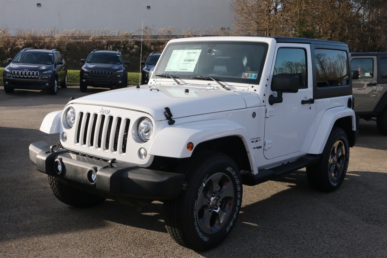 Jeep Wrangler Lease Price >> New 2018 Jeep Wrangler JK Sahara Sport Utility in Greensburg #J21832 | Hillview Motors