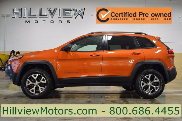 Certified Preowned 2016 Jeep Cherokee Trailhawk 4d Sport Utility