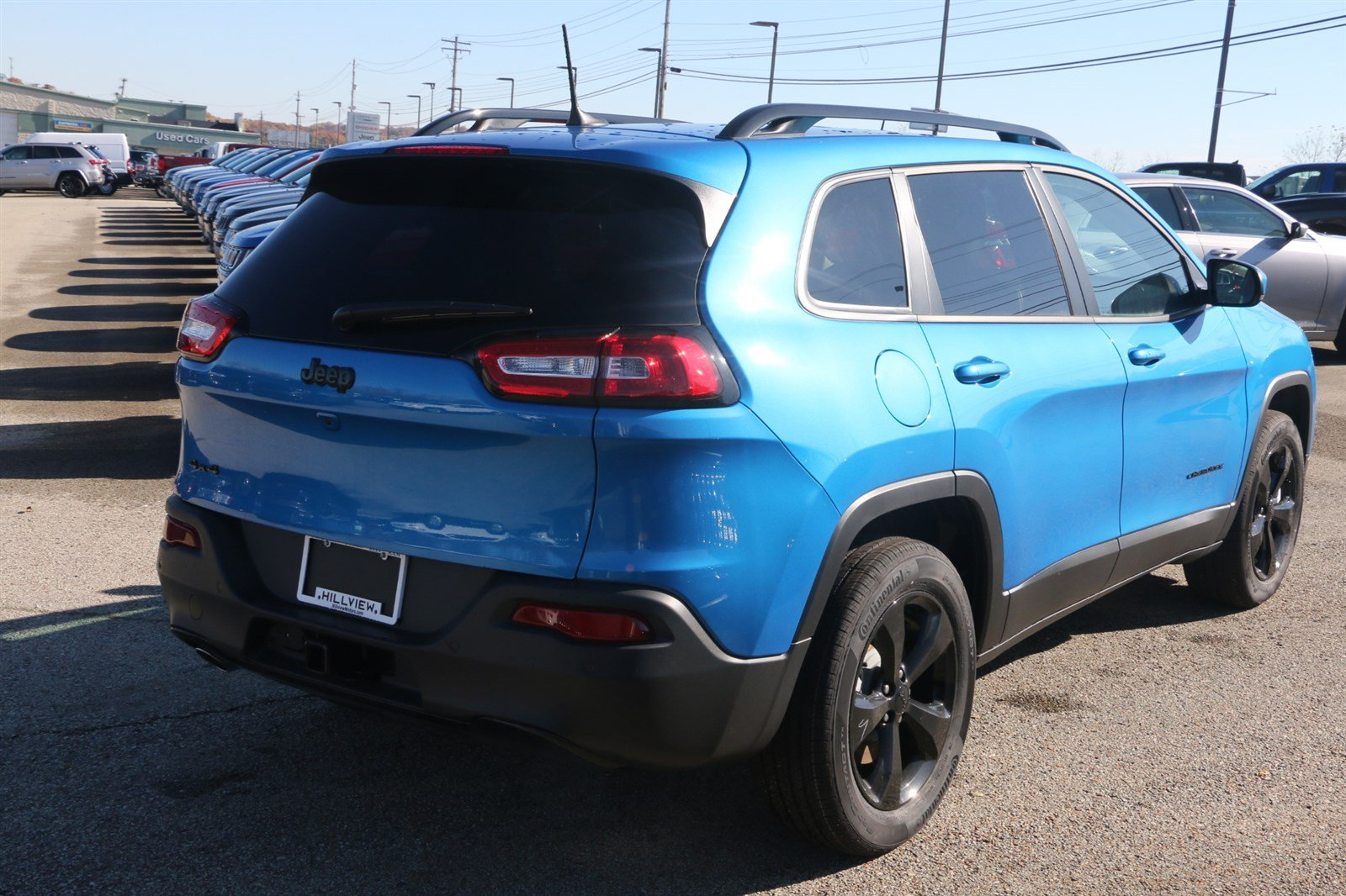 New 2018 Jeep Cherokee Limited Sport Utility In Greensburg