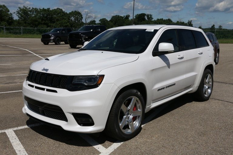 new 2017 jeep grand cherokee srt sport utility in greensburg j21510 hillview motors. Black Bedroom Furniture Sets. Home Design Ideas