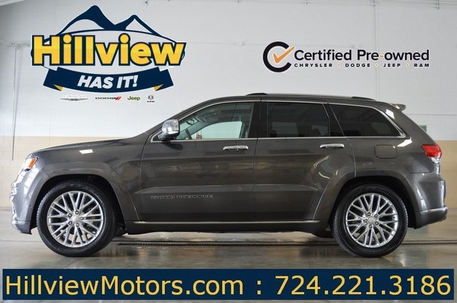 Certified Pre Owned 2017 Jeep Grand Cherokee Summit