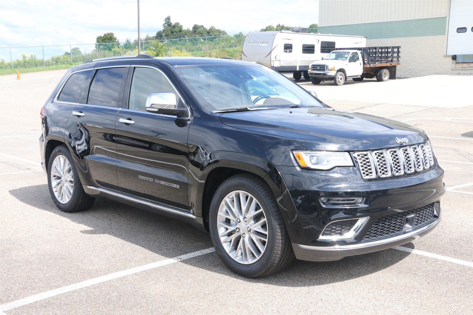 new 2018 jeep grand cherokee summit sport utility in greensburg j21668 hillview motors. Black Bedroom Furniture Sets. Home Design Ideas