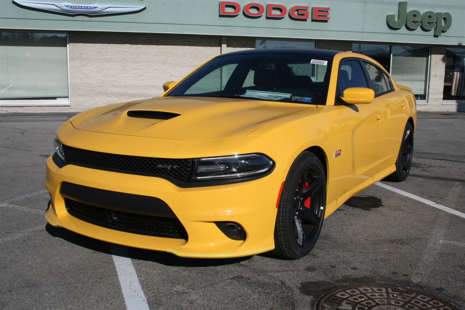 New 2018 DODGE Charger SRT 392 Sedan in Greensburg D5177