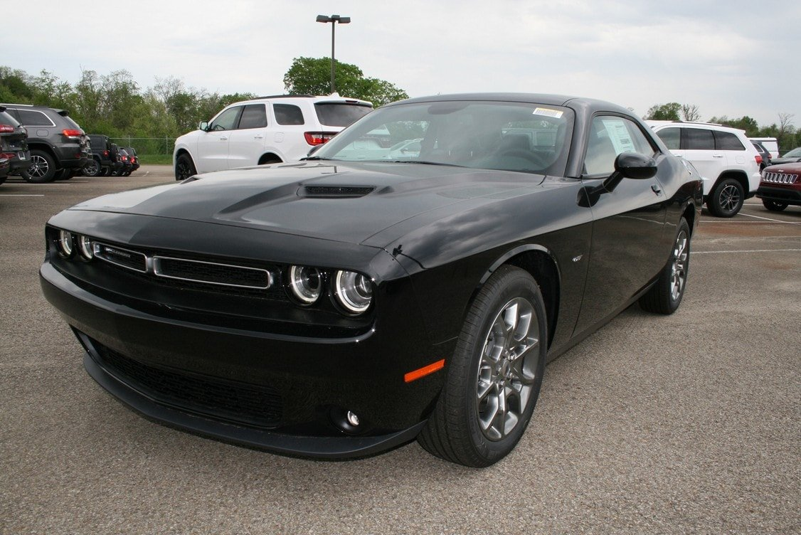 New 2017 Dodge Challenger Gt Coupe In Greensburg D4944