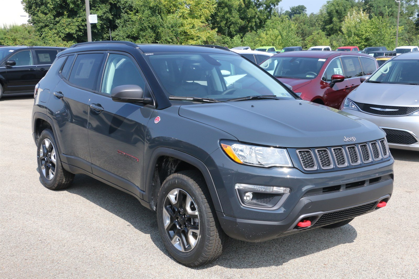 new 2018 jeep compass trailhawk sport utility in greensburg j21682 hillview motors. Black Bedroom Furniture Sets. Home Design Ideas