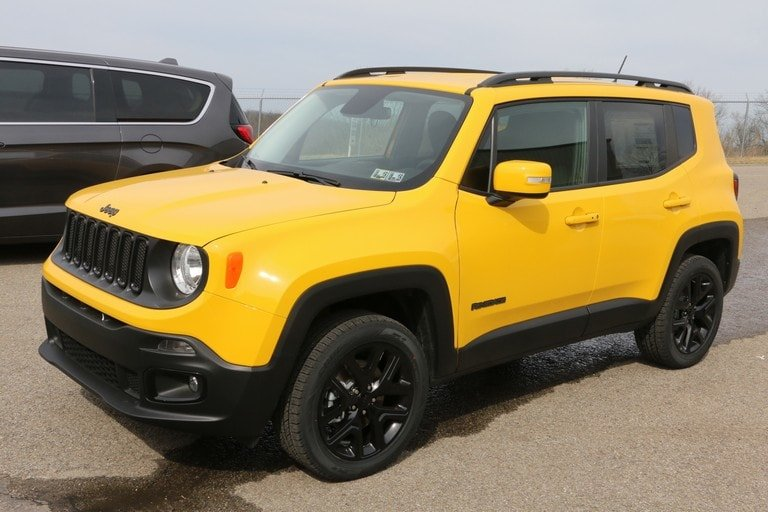 New 2017 Jeep Renegade Altitude Sport Utility In
