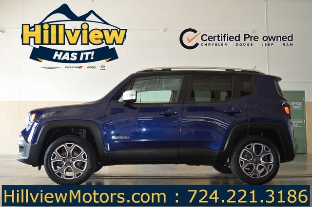 Certified Pre Owned 2017 Jeep Renegade Limited