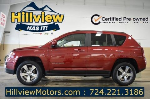 Certified Pre-Owned 2017 Jeep Compass High Altitude