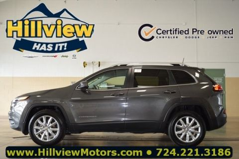 Certified Pre-Owned 2017 Jeep Cherokee Limited