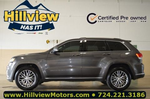 Certified Pre-Owned 2017 Jeep Grand Cherokee Summit